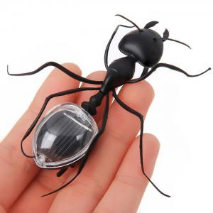 Solar Power Ant Animal Educational Toy with Solar Panel -