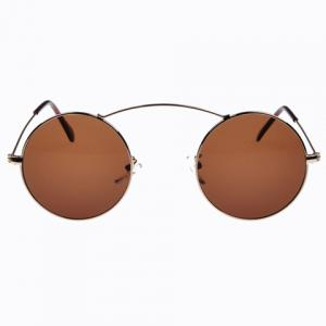 Stylish Women's Round Alloy Full Frame Sunglasses -