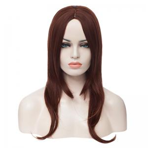 Capless Charming Mixed Color Side Bang Multi-Layered Fluffy Long Wavy Women's Synthetic Wig -