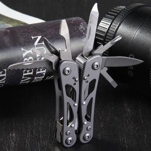 GANZO G104 - S Mini Pliers 9 in 1 Multifunctional Outdoor Camping Toolkit with Nylon Sheath -