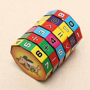 6 Layers Intelligent Puzzle Cube Children Education Learning Math Toy for Children -