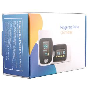 RZ001 Fingertip Pulse Oximeter SpO2 Rate Oxygen Monitor with 4 Directions Display / Low Power Indication -
