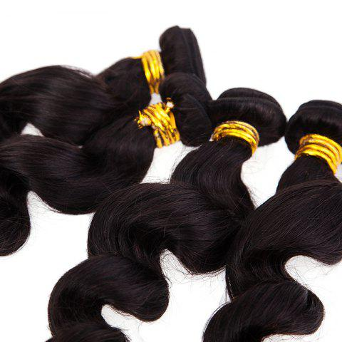 Affordable 6A Natural Black Virgin Hair 20 Inch Popular Brazilian Loose Wavy Hair Weft For Women -   Mobile