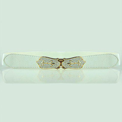 Sword Pattern Buckle Elastic Belt $4.07 AT vintagedancer.com