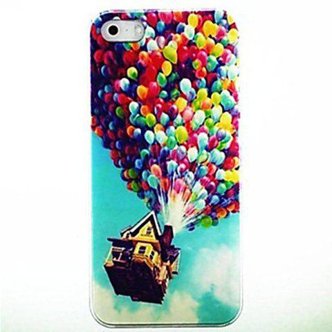 New Kinston Colorful Balloons Pattern Hard Back Cover Case for iPhone SE / 5 / 5S