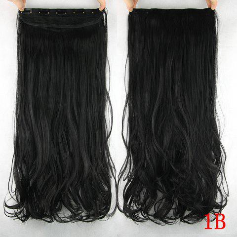 Outfits Trendy Wavy  Stunning Heat Resistant Synthetic Hair Weft For Women - 1B#  Mobile