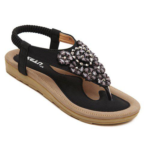 Best Trendy Rivets and Flower Design Women's Sandals
