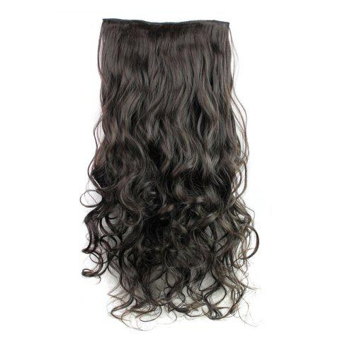 Latest Fashion 23 Inch Long Curly Clip-In Heat Resistant Synthetic Hair Extension For Women - 02#  Mobile