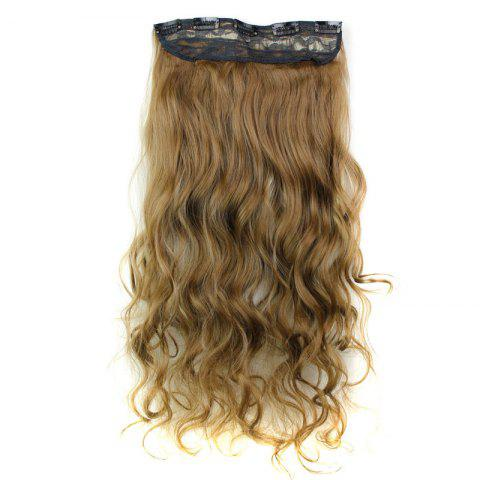 Outfits Fashion 23 Inch Long Curly Clip-In Heat Resistant Synthetic Hair Extension For Women - 6H613  Mobile