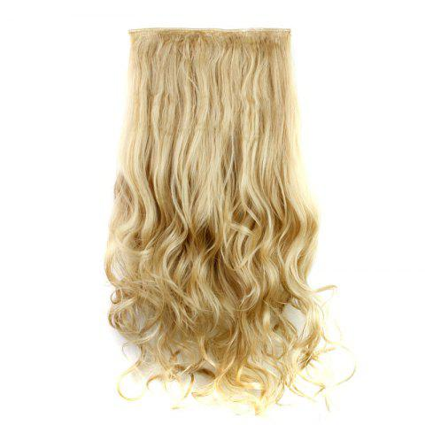 Unique Fashion 23 Inch Long Curly Clip-In Heat Resistant Synthetic Hair Extension For Women /
