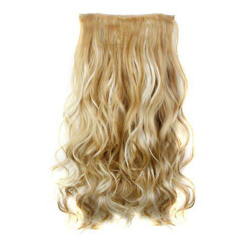 New Fashion 23 Inch Long Curly Clip-In Heat Resistant Synthetic Hair Extension For Women