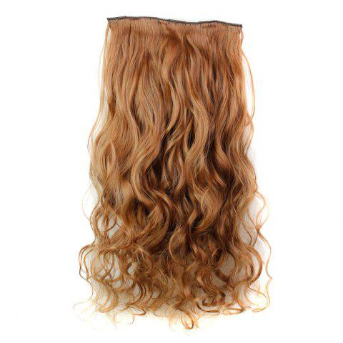 Trendy Fashion 23 Inch Long Curly Clip-In Heat Resistant Synthetic Hair Extension For Women - 30#  Mobile