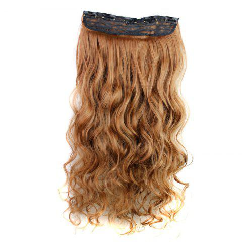 Shop Fashion 23 Inch Long Curly Clip-In Heat Resistant Synthetic Hair Extension For Women - 30#  Mobile