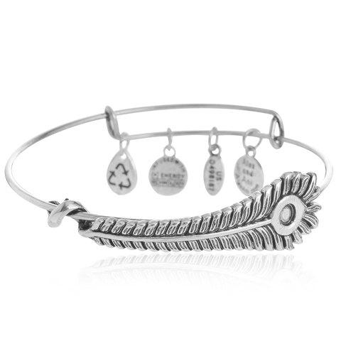 Cheap Classic Feather Round Bracelet