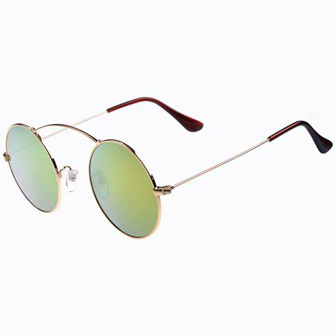 Store Stylish Women's Round Alloy Full Frame Sunglasses