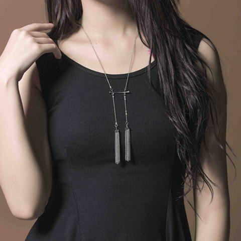 Outfit Stylish Tassel Necklace For Women