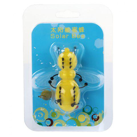 New Solar Power Bee Animal Educational Toy with Solar Panel - YELLOW  Mobile
