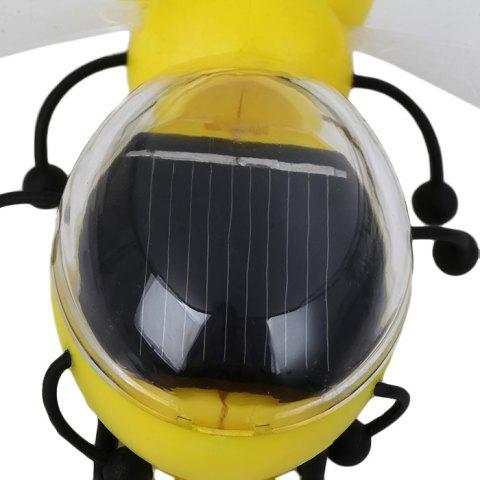 Sale Solar Power Bee Animal Educational Toy with Solar Panel - YELLOW  Mobile