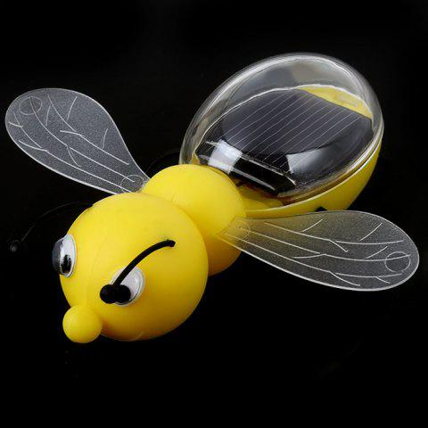 Shop Solar Power Bee Animal Educational Toy with Solar Panel - YELLOW  Mobile