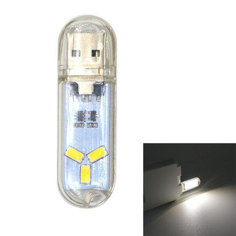 Online JMT-USB2 1W 60lm USB LED Light Camping Lamp with Touch Switch for Reading Bulb Laptops Computer Notebook Mobile Power Charger