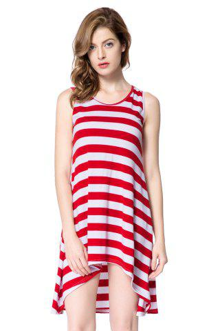 Outfits Striped Casual Summer Tank Dress