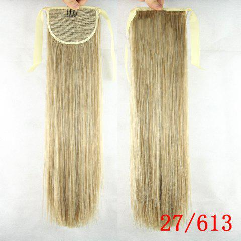 Cheap Fashion Natural Straight Synthetic Heat Resistant Fiber Ponytail For Women