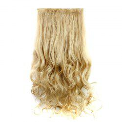 Fashion 23 Inch Long Curly Clip-In Heat Resistant Synthetic Hair Extension For Women - 27/613#