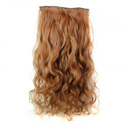 Fashion 23 Inch Long Curly Clip-In Heat Resistant Synthetic Hair Extension For Women - 30#