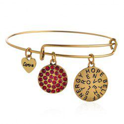 Sweet Beads Heart Love Bracelet For Women -