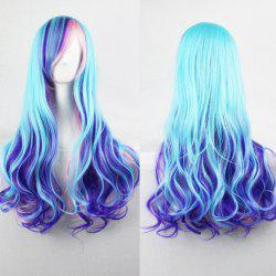 Harajuku Cosplay Lolita Style 70CM Fancy Color Shaggy Long Wavy Side Bang  Attractive Costume Wig