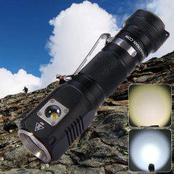 Sunwayman C22C Cree XM - L2 U2 + XP - G2 R5 1000Lm 6 Modes Waterproof 18650 LED Flashlight Side Switch Night Traveler