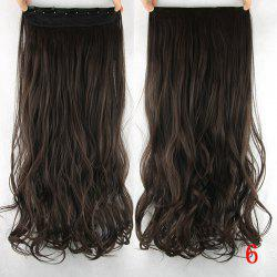 Trendy Wavy  Stunning Heat Resistant Synthetic Hair Weft For Women - 06#