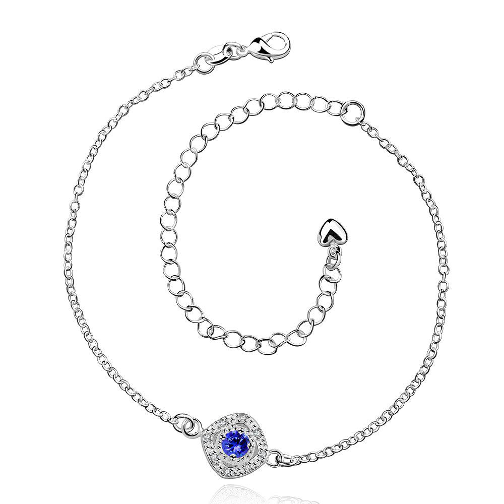 Best Stylish Rhinestone Spliced Printed Anklet