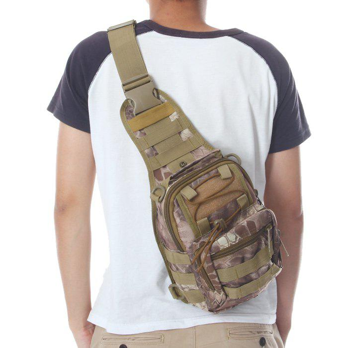 Sale Outdoor Camping Hiking Water Resistant 5L Capacity Nylon Tactical Single Shoulder Bag