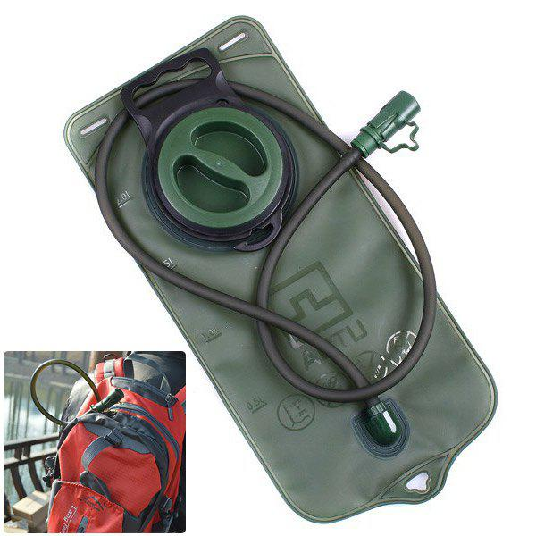 Latest Aotu AT6602 2L Big Mouth TPU Water Bag with 100cm Pipe for Outdoor Camping / Riding