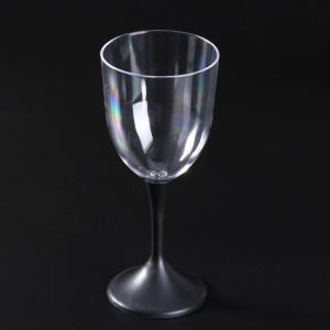 Creative LED Flashing Red Wine Goblet Removable Transparent Novel Drinkware Cup 310ML -