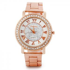 Kanima Diamond Lady Quartz Watch with Stainless Steel Body -