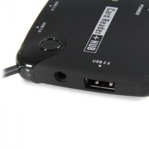 OTG USB Hub and Card Reader for Galaxy S3 / S4 / Note2 / Note4 -