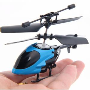 QS QS5013 2.5CH Mini Micro Remote Control RC Helicopter Children Toy - Random Color - Spanish