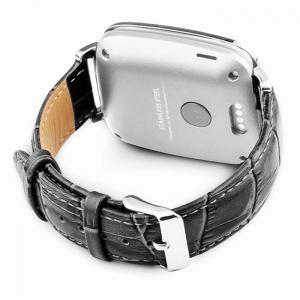OUKITEL A28 MTK2502 Smart Bluetooth Watch Heart Rate Monitor Sleep Tracker Pedometer Genuine Leather Band iOS Android -
