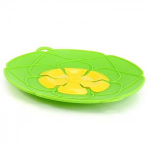 Silicone Anti-Boiling Secured Pot Cover Healthy Fancy Delicate Durable Environmental-Friendly