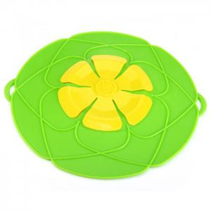 Silicone Anti-Boiling Secured Pot Cover Healthy Fancy Delicate Durable Environmental-Friendly -