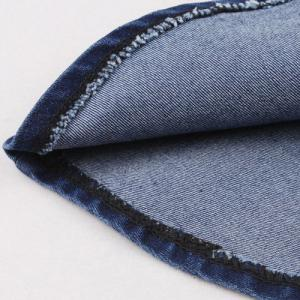 Ladylike Zippered A-Line Flounced Denim Skirt For Women -