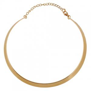 Punk Mirrored Alloy Necklace - GOLDEN