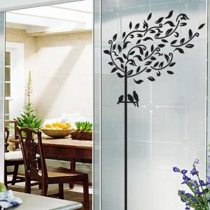 Willow Tree Design Wall Stickers Removable PVC Material Art Decals Home Appliances -