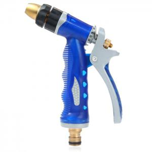 High Pressure Copper Nozzle Water Gun Garden Water Washing Sprinkler Gun Car Bike Cleaning Tube - AS THE PICTURE