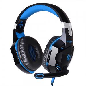 EACH G2000 Gaming Headset Stereo Sound 2.2m Wired Headphone Noise Reduction with Microphone for PC Game -