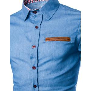 Chemise manches courtes -