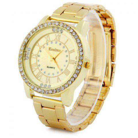 Discount Kanima Female Quartz Watch Stainless Steel Band Diamond Wristwatch