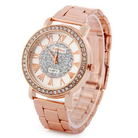 Online Kanima Diamond Lady Quartz Watch with Stainless Steel Body